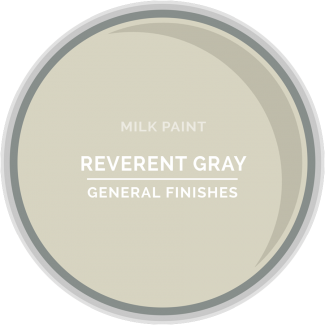 General Finishes Milk Paint - Reverent Gray
