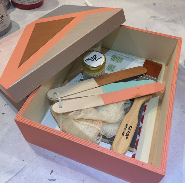 Intro to furniture painting workshop - Thursday 19th July