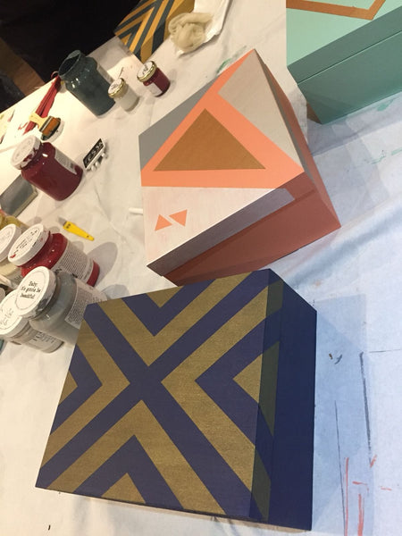 Intro to furniture painting workshop - Thursday 19th April