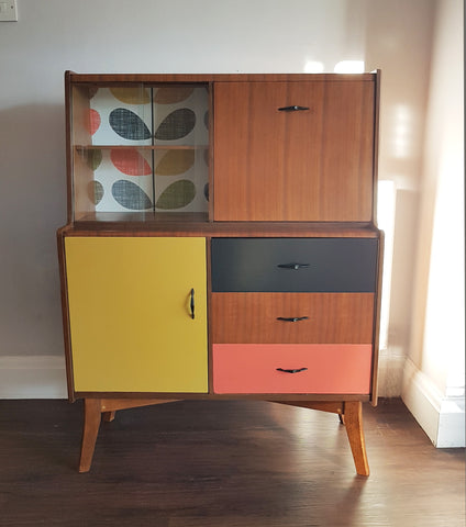 Orla Kiely-inspired Drinks Cabinet Commission