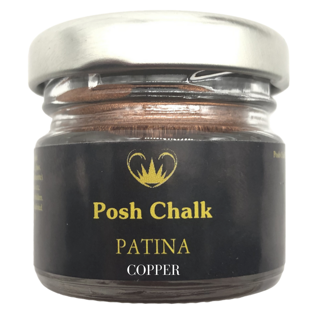 Posh Chalk Metallic Patina Gilding Wax