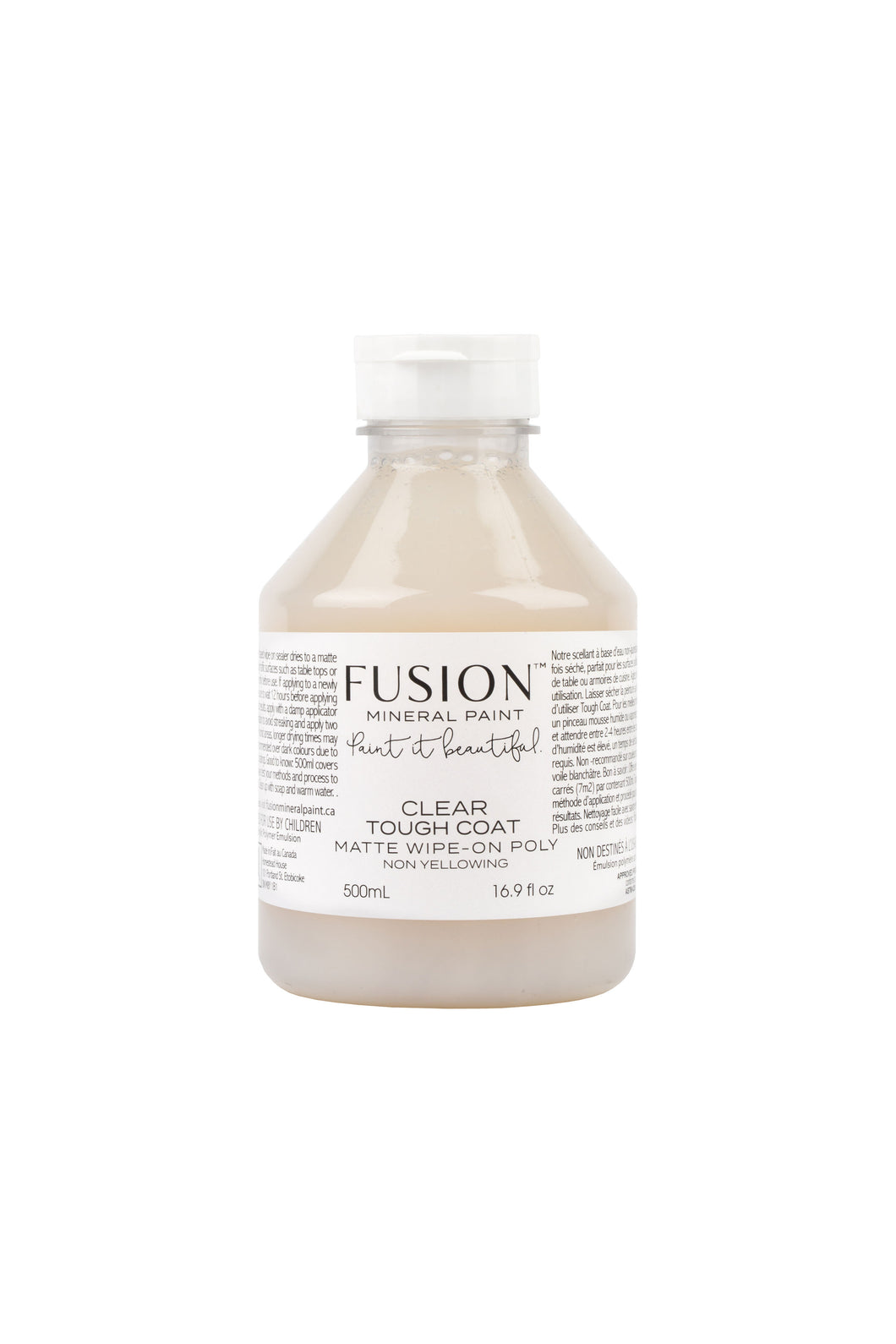 Fusion Mineral Paint Tough Coat matte top coat