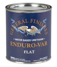 General Finishes Enduro-Var Water-based Top Coat for Wood (Various finishes)