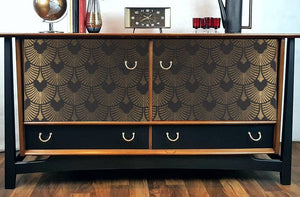 1950s G Plan Teak & Black sideboard
