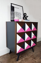 'Paint it Pink' charity chest of drawers