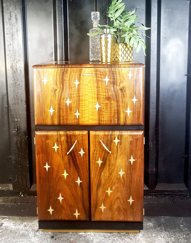 Gold star design vintage drinks cabinet Done Up North