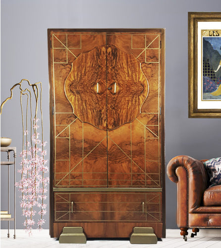 Art Deco inspired 'Whisky Wardrobe'