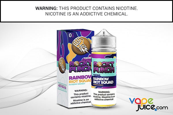 RAINBOW RIOT SQUAD BY ROCKT PUNCH 120ML
