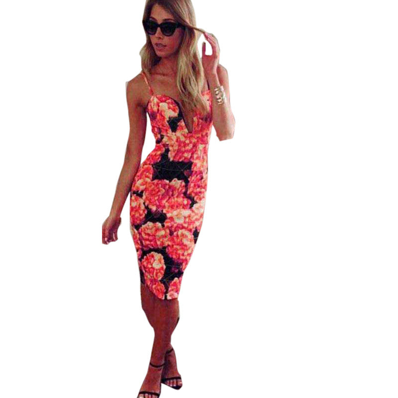Flower Floral Party Dress