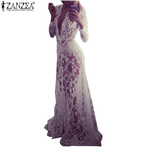 Summer Autumn Dress Women Lace