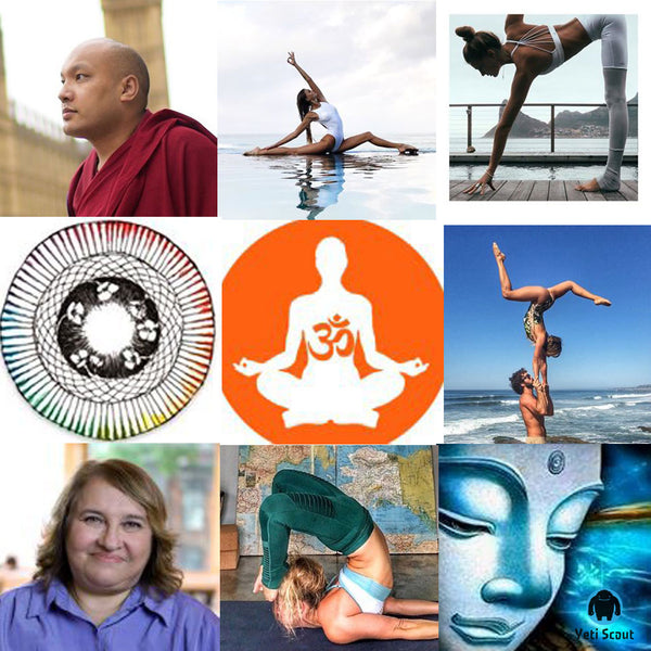 Best Instagram Accounts to follow channels for Buddhism, Spirituality, Yoga and Meditation