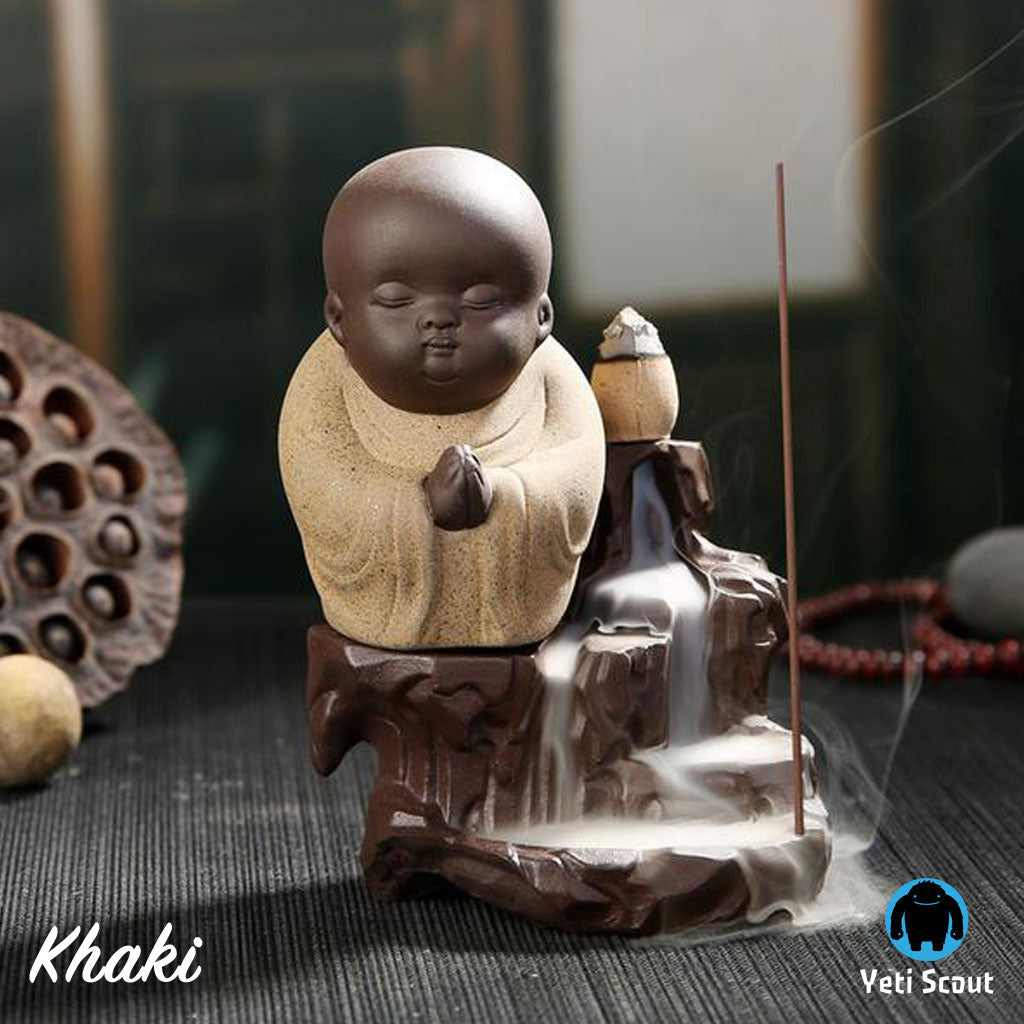 The Little Monk Zero Gravity Incense Burner + FREE incense