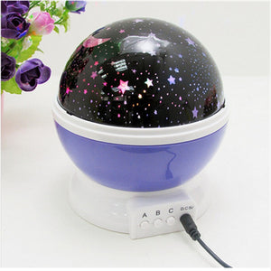 Galaxy Stargazer Lamp