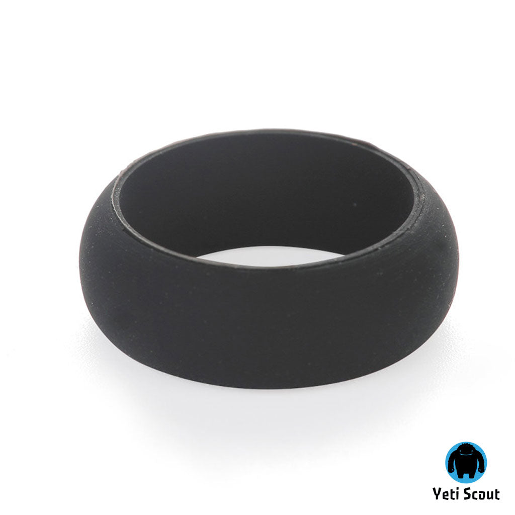 Active Ring® Sports Wedding Ring - Antibacterial Silicone Ring for Men