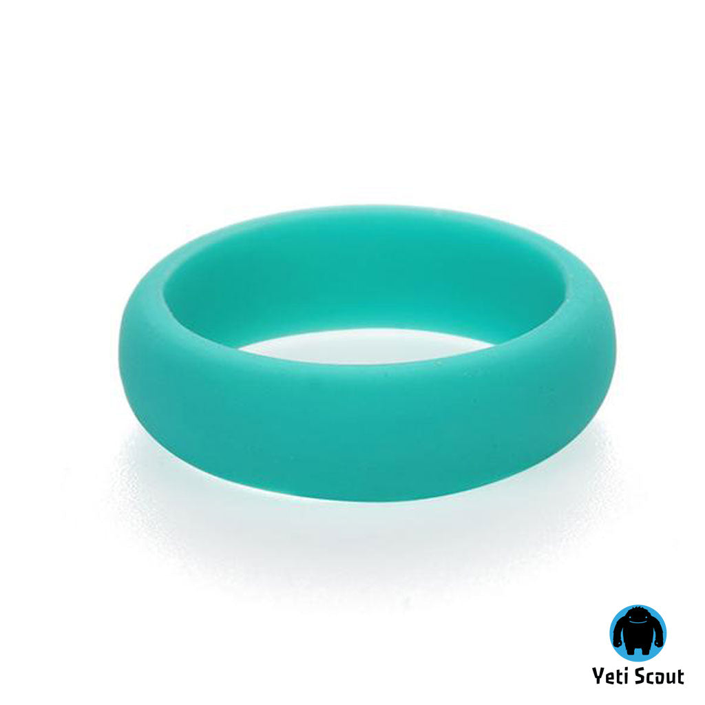 Active Ring® Silicone Wedding Ring - Antibacterial Sports Ring for Women