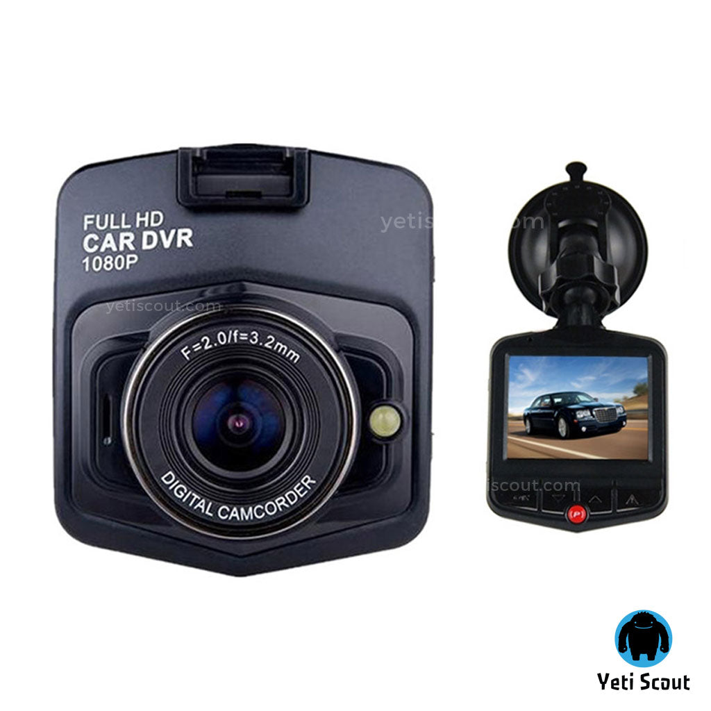 Night Vision Mini Dash Camera - Full HD 1080P
