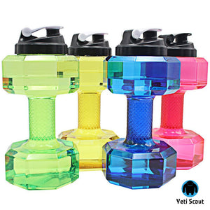 Dumbbell Water Bottle