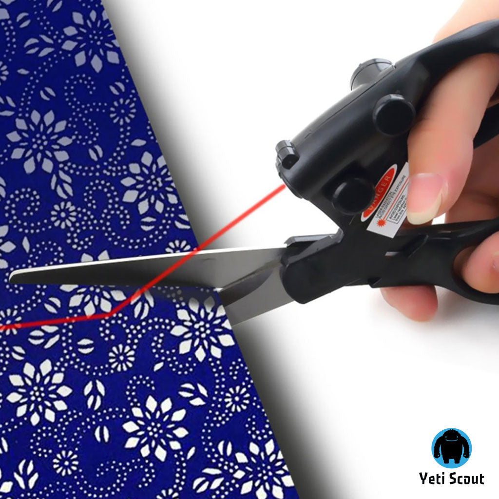 Professional Laser Guided Scissors - As Seen On TV!