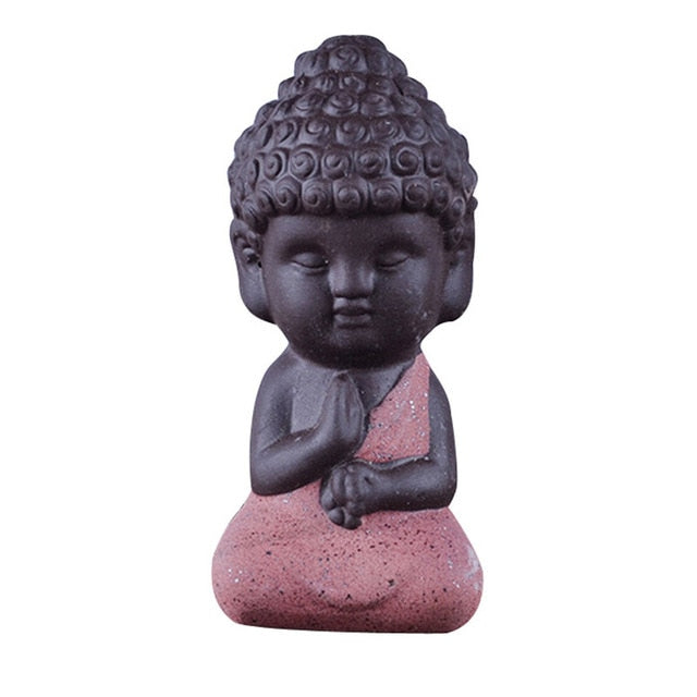 Little Monk Figurine
