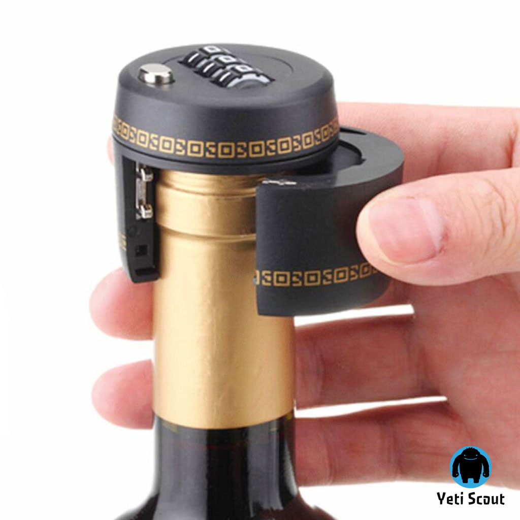 Wine Keeper® - Wine Bottle Lock