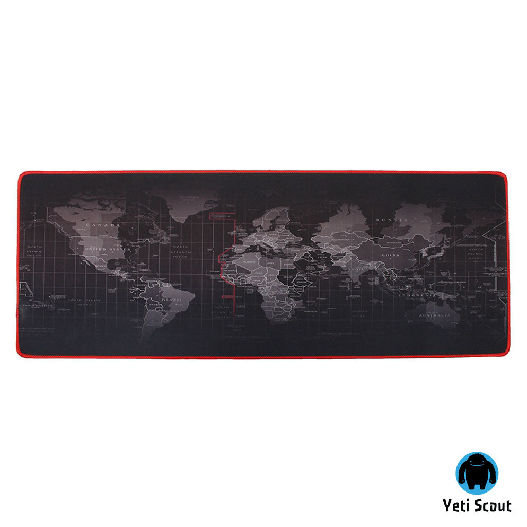 HUGE Mouse Pad & World Map