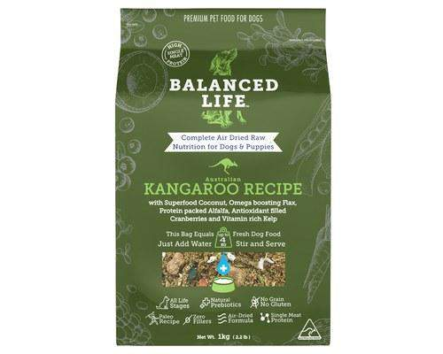 Balanced Life Food for Dogs – Kangaroo