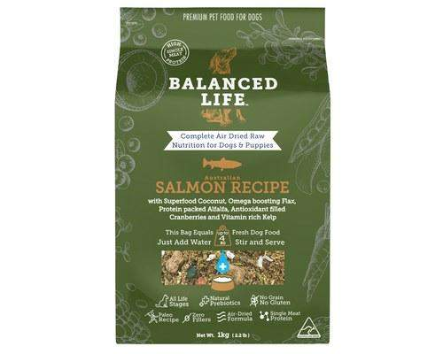Balanced Life Food for Dogs – Salmon