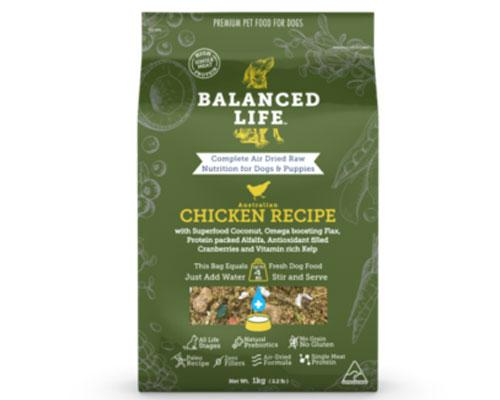 Balanced Life Food - Chicken (for Dogs)