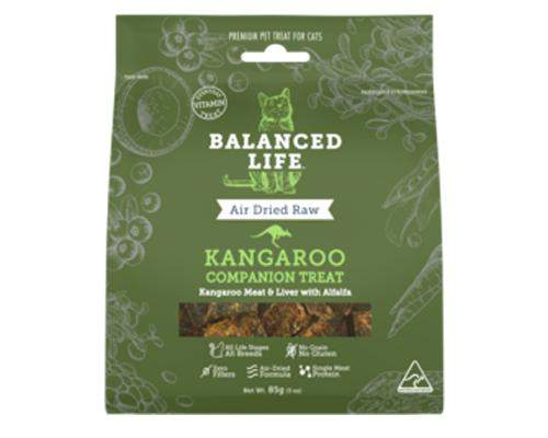 Balanced Life Kangaroo Treats for Cats-Balanced Life - Naturopet