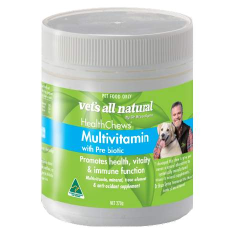 HealthChews Multivitamin with Prebiotics - Naturopet