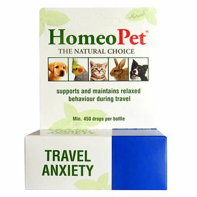 Homeopet Travel Anxiety for Dogs and Cats 15ml