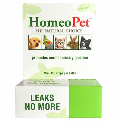 Homeopet Leaks No More 15ml - Naturopet