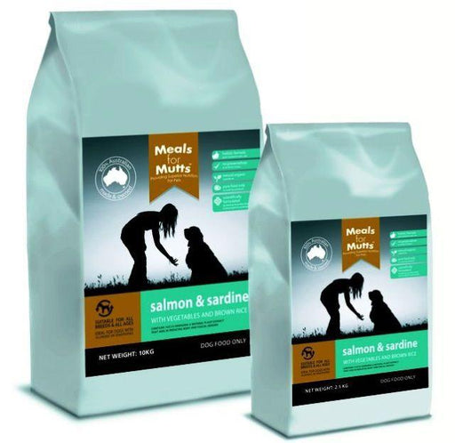 MfM Dogs Salmon and Sardine 2.5kg - Meals For Mutts - Naturopet