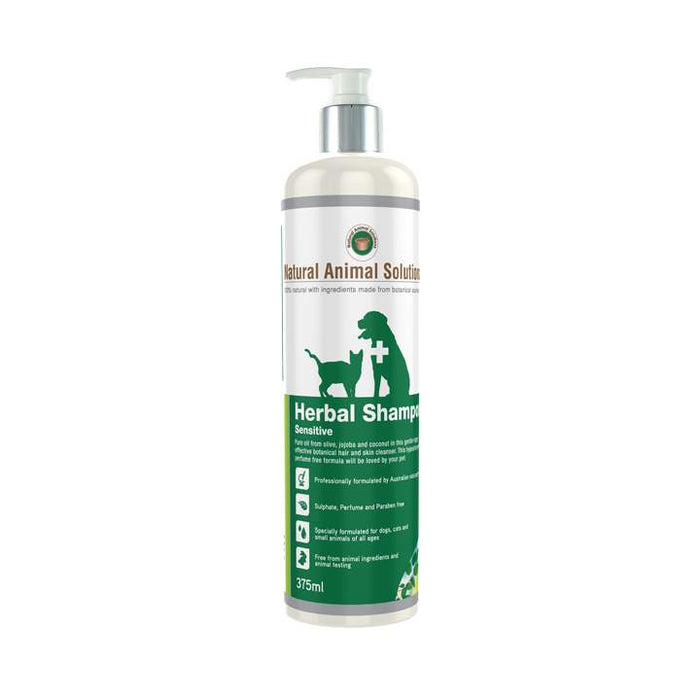 Natural Animal Solutions Herbal Shampoo Sensitive Skin - Naturopet