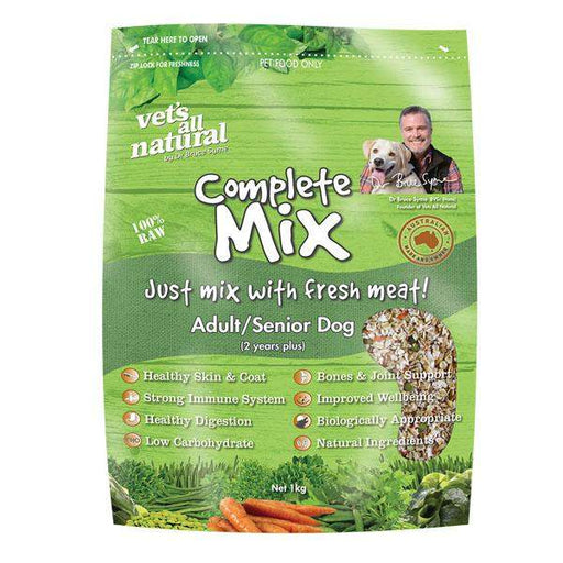 Vets All Natural Complete Mix Adult Regular