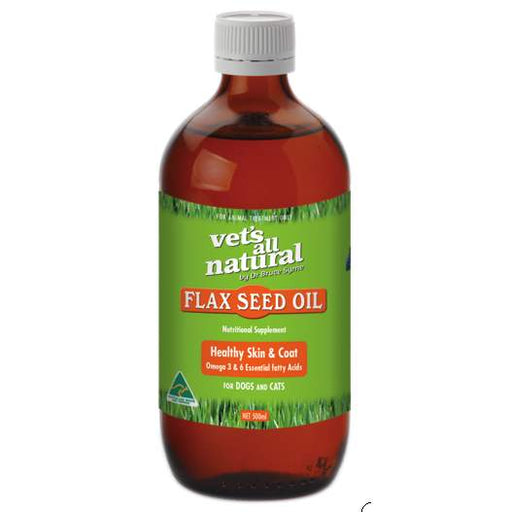 Vets All Natural Flax Seed Oil - Naturopet