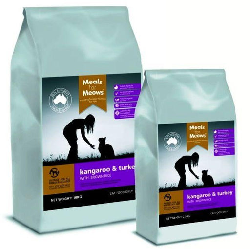 MfM Cats Kangaroo and Turkey 2.5kg - Meals For Mutts - Naturopet