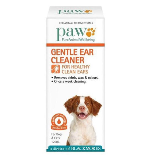 PAW Gentle Ear Cleanser 120ml - Naturopet