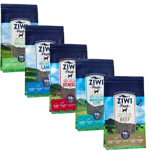 Ziwi Peak Air Dried Dog Food - 5 Varieties