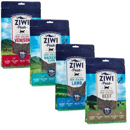 Ziwi Peak Air Dried Cat Food 400g - 4 Varieties