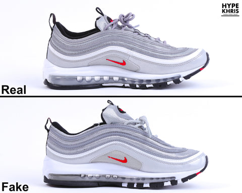 outlet store 917a8 ae2db ... Real VS Fake Air Max 97 OG