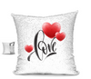 Love Sequin Pillow