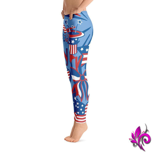 4th of July Leggings Clothes Leggings & Tights