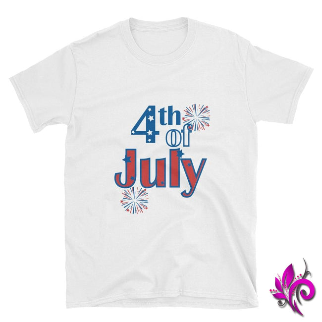 4th of July White / S Express Tee