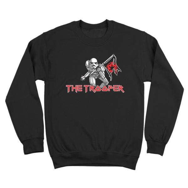 The Storm Trooper Maiden Crewneck Sweatshirt