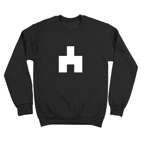 White Bear Symbol Crewneck Sweatshirt