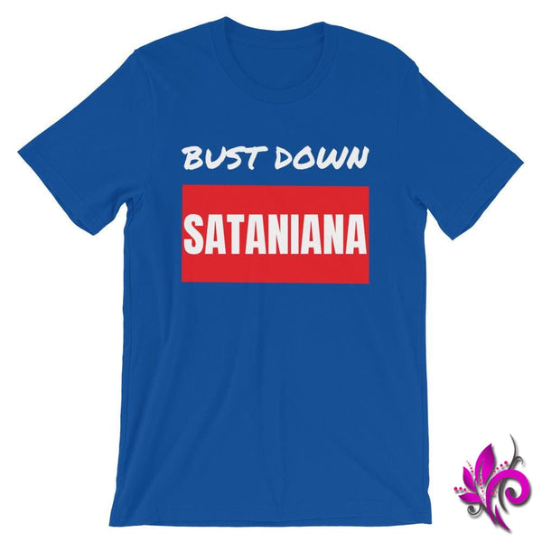 Bust Down Sataniana True Royal / S Express Tee