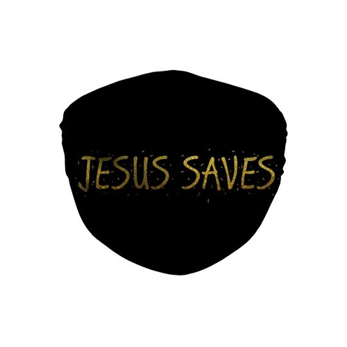 Jesus Saves Face Mask