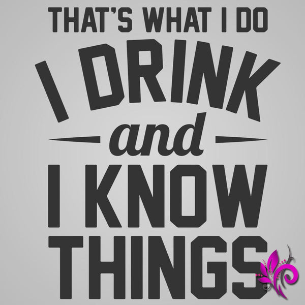 Drink And Know Things Unisex Raglan Express Tee