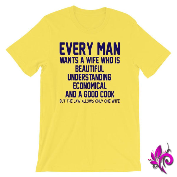 Every Man Wants A Wife Who Is Yellow / S Dudes